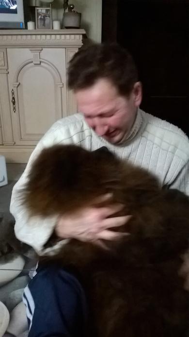 потерялась собака чау-чау, чёрная,девочка,12 лет